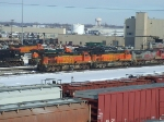 BNSF 4534 and 4115