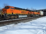 BNSF 7262 and 5137