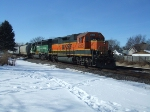 BNSF 2325 and 3134