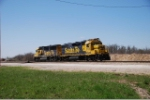 BNSF 2790 & 8720 get ready to return to Springfield with one of Monett's locals