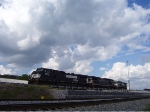 NS Units at Norris under impressive clouds.