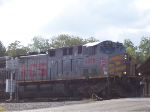 Mixed locomotives shove into Norris Yards
