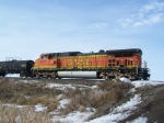 BNSF 5433 Brings up the Rear on a Freight Manifest