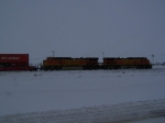 Eastbound Doublestack Train