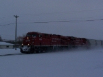 Mixed Freight Bound for Saskatchewan