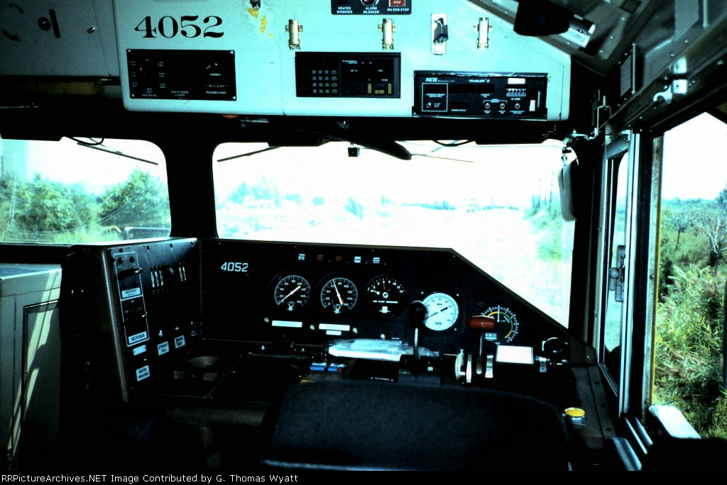 Cab of SD-70M