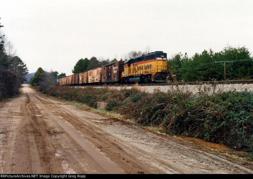 CSX local freight