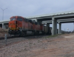 BNSF 6254  28Feb2010  Waiting SB with Coal at the US 287 Overpass