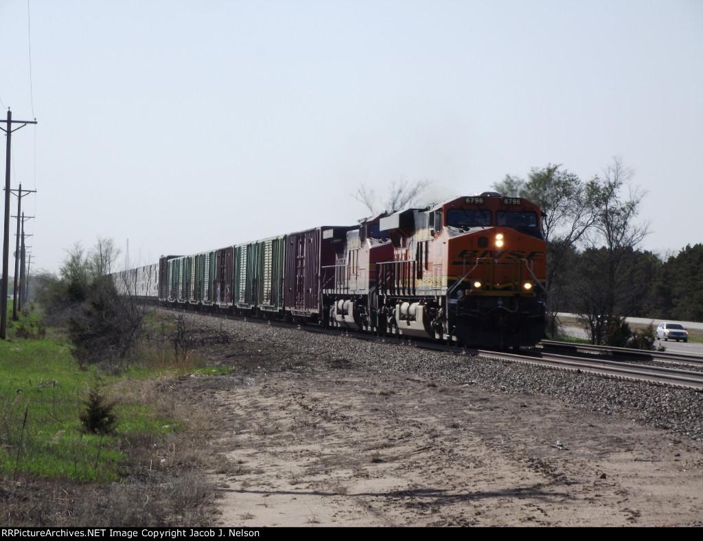BNSF 6796
