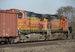 BNSF 4387 and BNSF 4882 (DPU's)