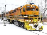 BPRR 3107 gets back underway to Rochester