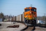 BNSF 6238 is the DPU on a coal empty on the Ft Scott sub