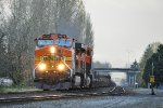 BNSF 4570 on NB baretable
