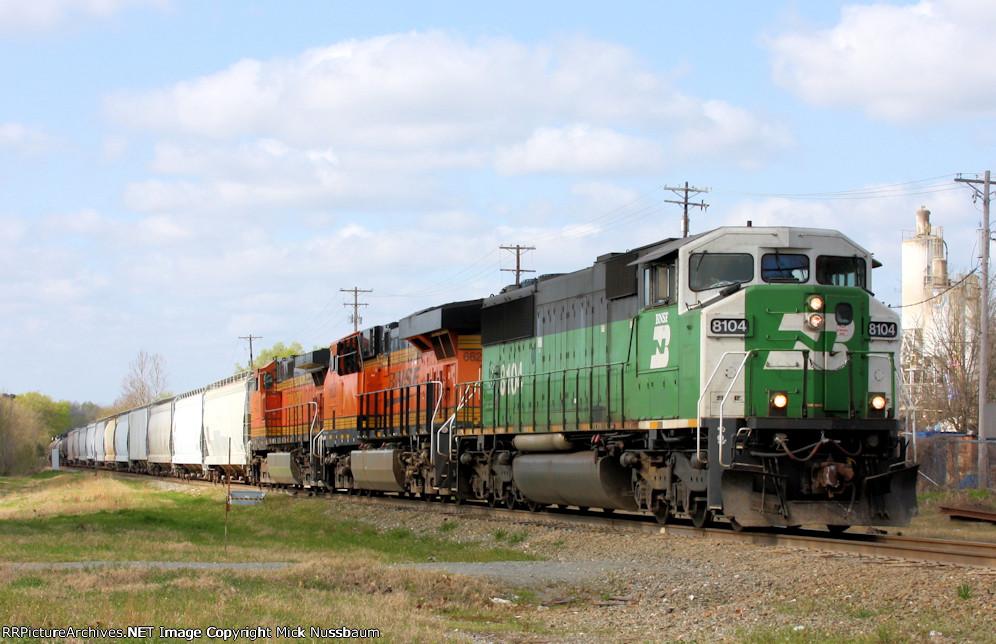 Train waiting its turn