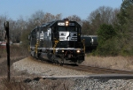 NS 968 rounding the curve at Jenkinsburg