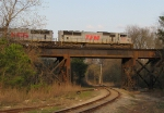 TFM 1633 crossing over the river branch