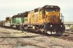 Work train returning to yard