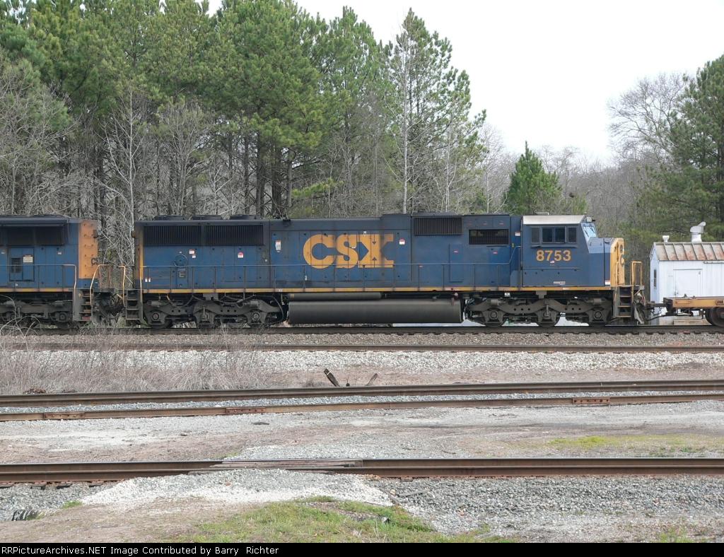 CSX SD60I 8753