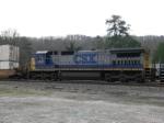 CSX C40-8 7610