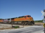 BNSF 4514 eastbound at Country Road 1100