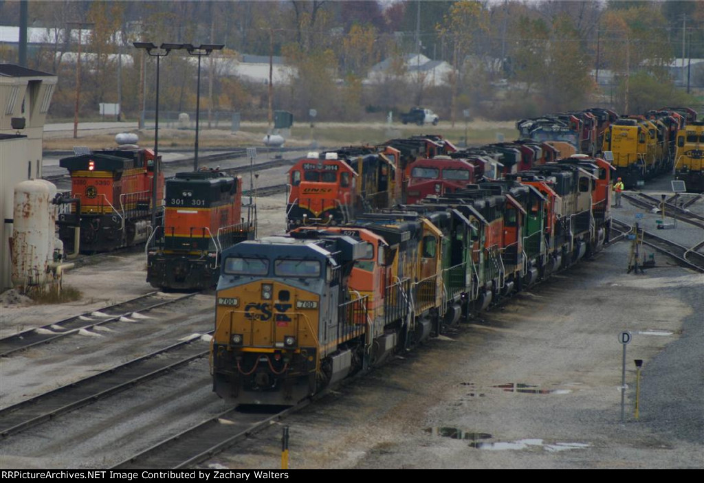BNSF Engines Group 2