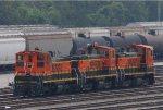 3 BNSF Swicthers