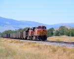 BNSF unit coal train
