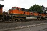 BNSF C44-9W 992