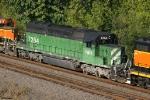 FURX SD40-2 7284
