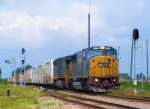 CSX 8770 Q741-17 Tropicana Juice Empties