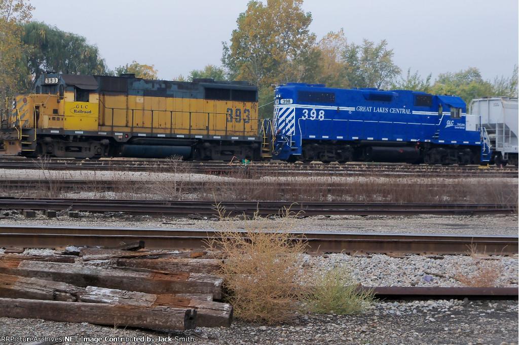 GLC 398 & 393