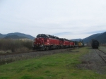 CORP #504 Coming into Grants Pass Yard
