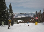 The Railyard snowboard course at Winter Park