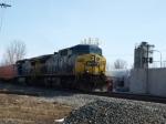CSX 281 at Greenwich Ohio.