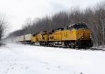 UP 9659 leads Eastbound NS 22K at Crayton Rd