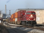 CP 8780 leads X500-18 away from Godfrey