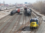 Y450 takes the Runner back to the north end of GDLK's Hughart Yard