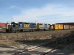CSX 2775 & 2773 prepare to depart from Hughart Yard with Y450