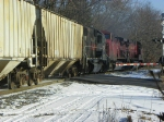 Canadian Pacific 4653, 9524, and 9589