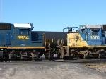 CSX 6954 & 8070