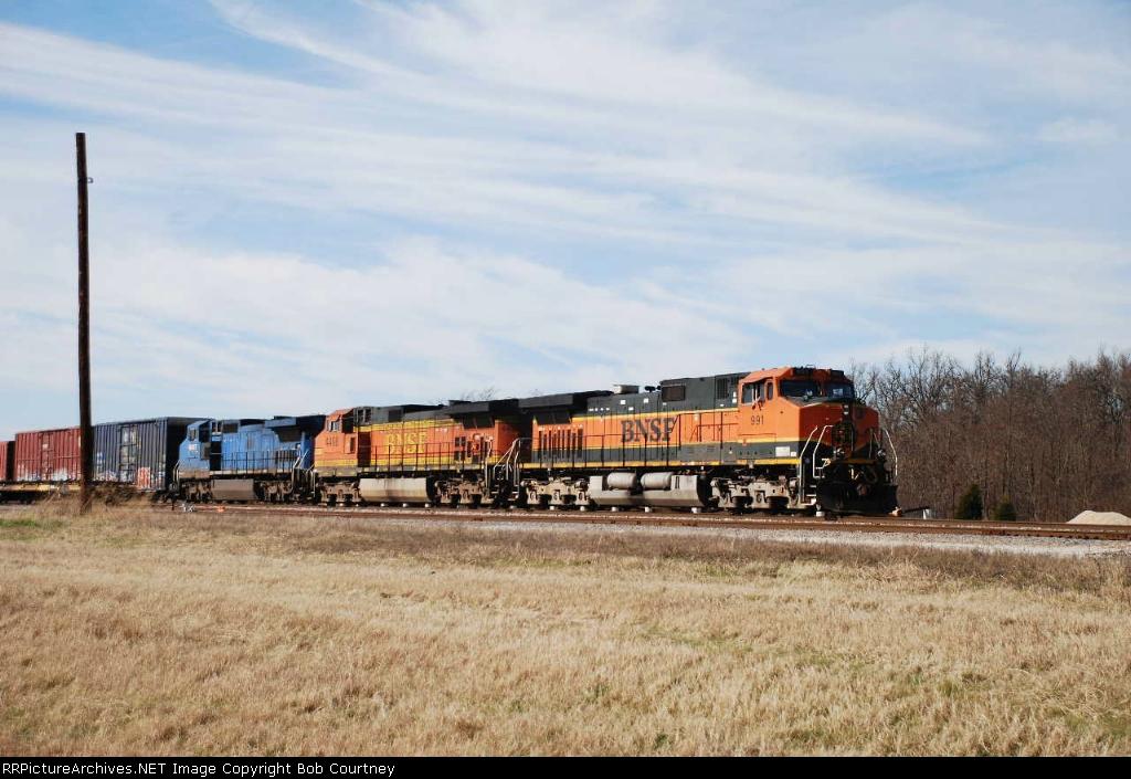 BNSF 991 eastbound