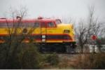 KCS 1 with the Santa Train