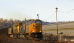 "CSX U308 in the "" Sweetlight """