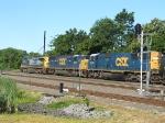 CSX train Q417 with 44 cars