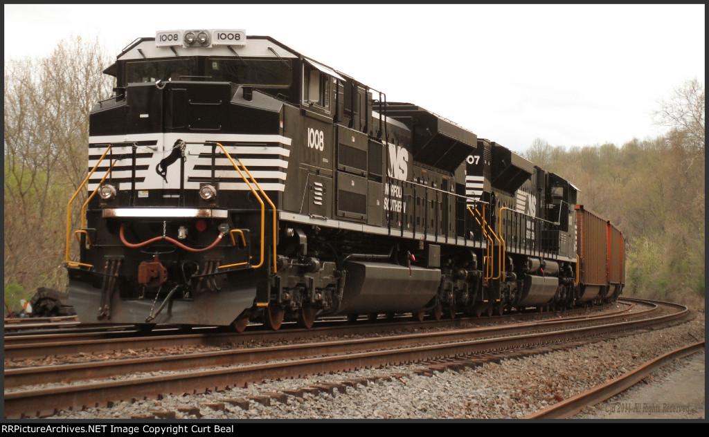 NS 1008 and 1007