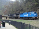 Conrail at Horseshoe Curve