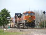 BNSF 1007 leads Intermodal