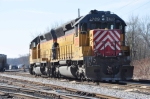 CITX 2789 is screwed down after working a mixed freight from Van Yard, Illinois