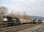NS 6611 & 1649 along with NS 9243 & 9099 from the CHW