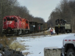 Canadian Pacific 7311, 8230 and Luzerne Susquehanna 1201